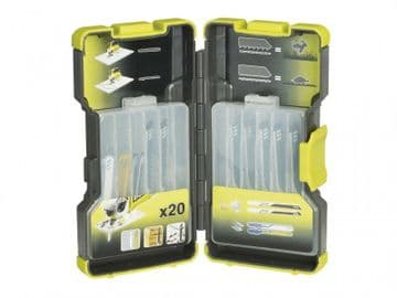 RAK-20JB Jigsaw Blade Set, 20 Piece